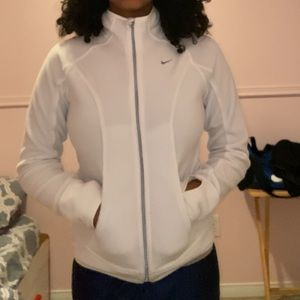 XS-S Nike fit therma zip up sweater